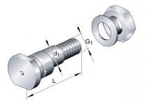 INA LFE 25-82 A1 excentrický čep kladky