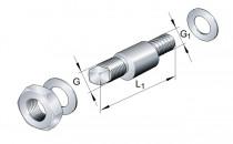 INA LFE 12-1 excentrický čep kladky