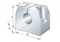 INA GWH 16 B opěra vodící tyče