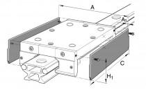 INA ABAL 52 boční deska pro vozíky LFL - N1