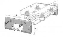 INA AB 32 mazací a stírací jednotka pro vozíky LFL - N1