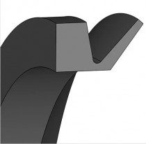 V-kroužek VA 160 NBR60 Dichtomatik - N1