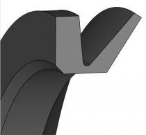 V-kroužek VS 10 NBR60 Dichtomatik - N1