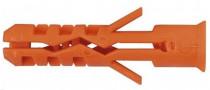 Hmoždinka standardní s límcem nylonová Mungo MNK 8x40 - N1