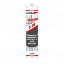 Teroson SI 34 - 310 ml transparentní silikonový tmel - N1