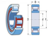 Ložisko NU203-E-TVP2-C3 FAG