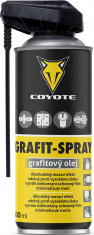 Coyote Grafit Spray - 400 ml grafitový olej