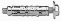Kotva plášťová pro střední zatížení se šroubem KOS-S 12x50 M8