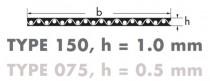 Řemen plochý HF 420 40 mm optibelt Optimax