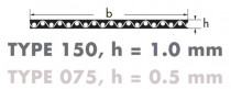 Řemen plochý HF 430 10 mm optibelt Optimax